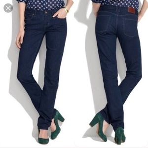 Madewell Rail Straight Skinny Jeans